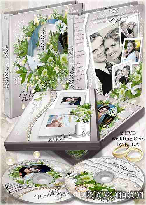 Two wedding DVD set-On the day of your wedding congratulations!