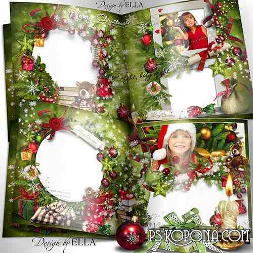Christmas photo book download - Holy Night, Silent Night