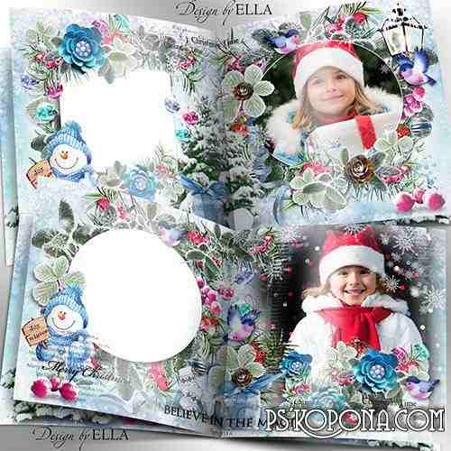 New Year Photo book and Christmas Clusters - Merry Christmas