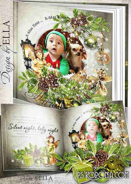 Beautiful Christmas photobook -On Christmas Eve