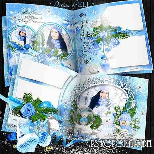 New Years photobook-Blue Christmas Tale