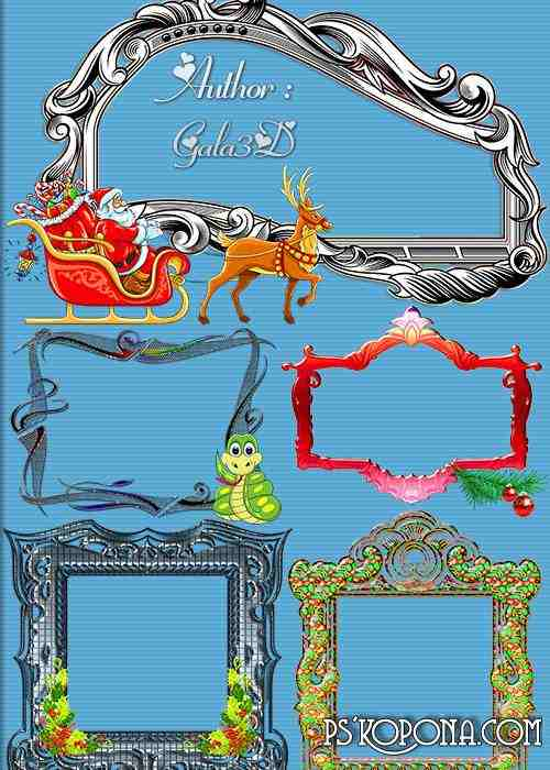 Decorative frames for your creativity
