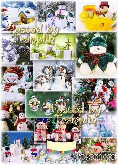 Snowmen – Beautiful Christmas backgrounds