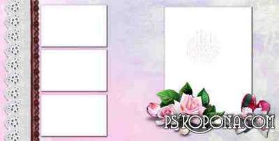 Romantic Photobook template psd - Eternal Love