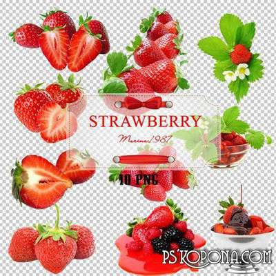 Raster Graphics - sweet strawberries 15 PNG images free download