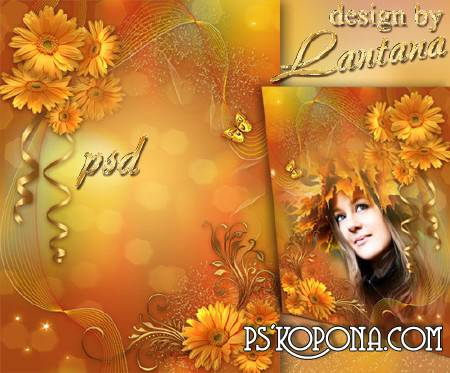 PSD source - Autumn colors are so bright and beautiful