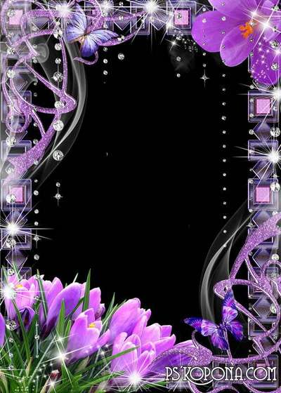 Frame womens -  Beautiful spring crocuses
