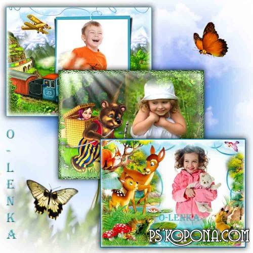Frames for photoshop - For children
