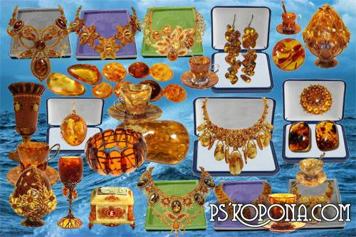 Free Clipart Amber psd masterpieces of jewellers