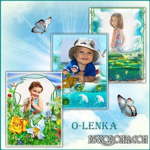 Photo frames for children free download - The World of childhood