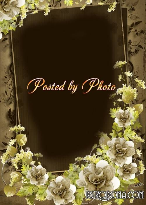 Photo frame - Luxury vintage