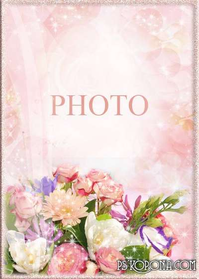 Womens photoframe - Aromas of summer flowers