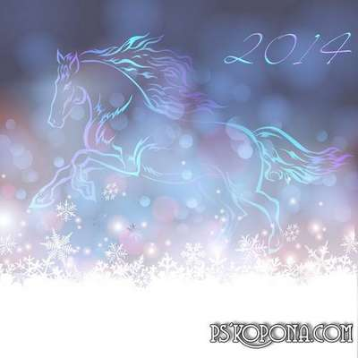 PSD source - Year of the Horse - 2014