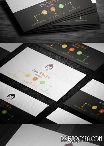 PSD - Creative Business Card Template 006