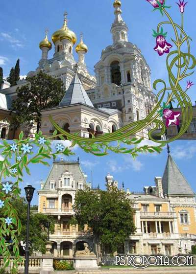 The palaces and temples of the Crimea (author's works!)