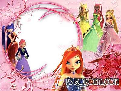 Photoframe - Winx Club by VARENICH