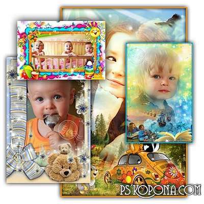 Collection of childrens photo frames - My favorite fairy tale