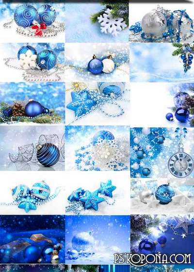 Blue Christmas backgrounds