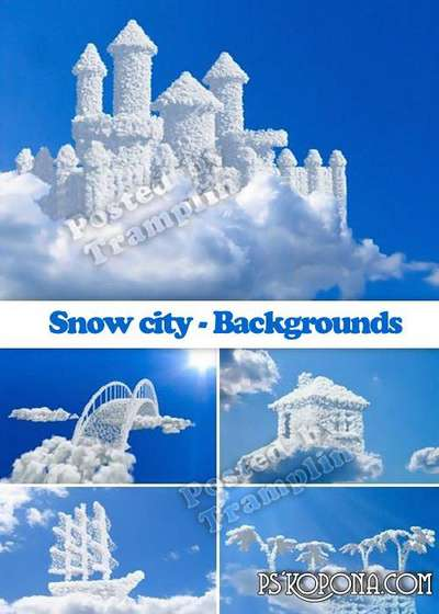 Snow city - Backgrounds