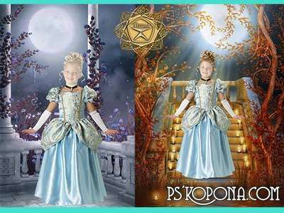 Children's template - Princess fairyland