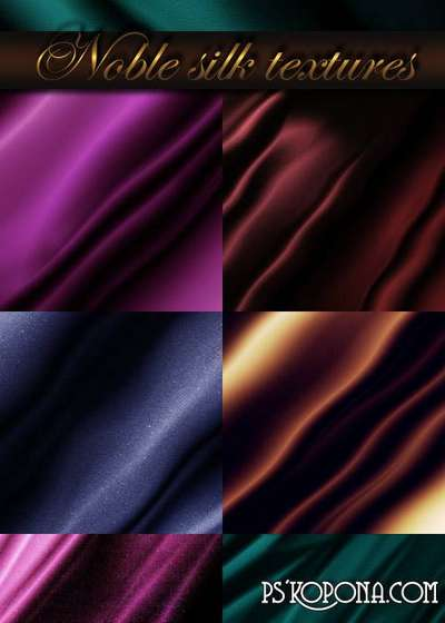 Noble silk textures
