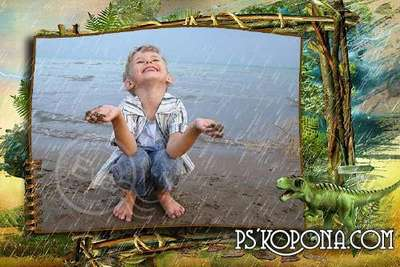 Free photo frames for children in psd and png formats for baby pictures