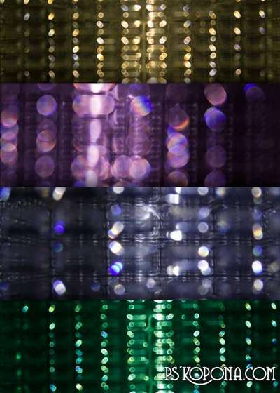 Abstract bokeh JPEG Textures