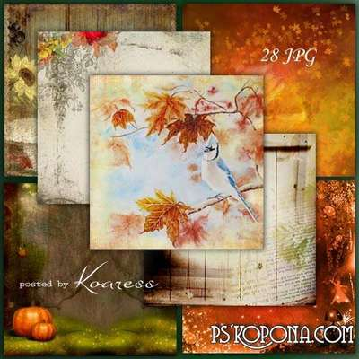 Set of autumn jpg backgrounds for design 28 JPG, 3600 x 3600 px
