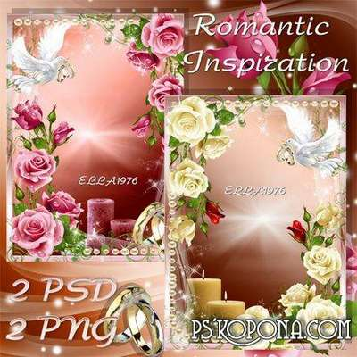 Wedding frame - Romantic Inspiration