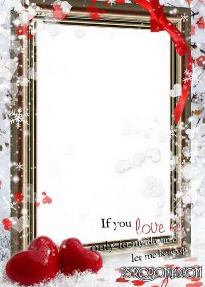 Collection 2  photo frames - Valentine's Day