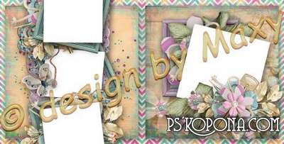 Photobook template psd template for girls - The most fun
