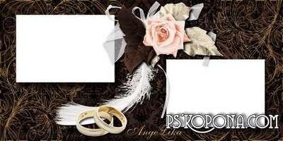 Wedding Photobook template psd - My Love