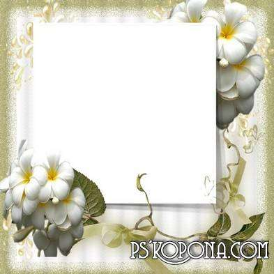 Frame for photoshop - Golden time