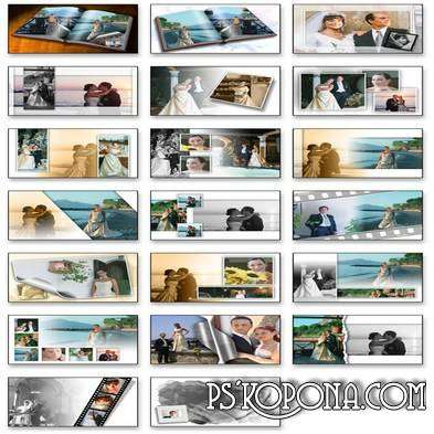SPC international Photo Album Templates - Wedding