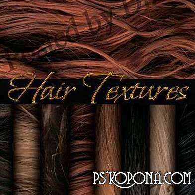 Exclusive hair textures ( free hair textures, free download )