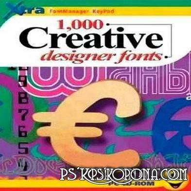 1000 Creative Designer Fonts