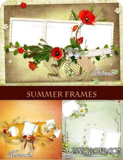 frames for photoshop -Scrap-summer