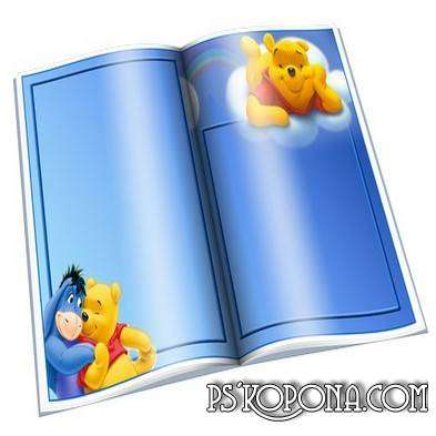 Frames for Photo - Open Book - Disney free download
