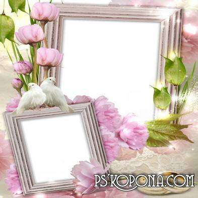 Wedding frames - Love story