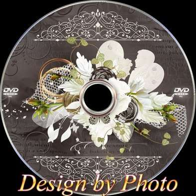 Cover and DVD disk - Chocolate wedding