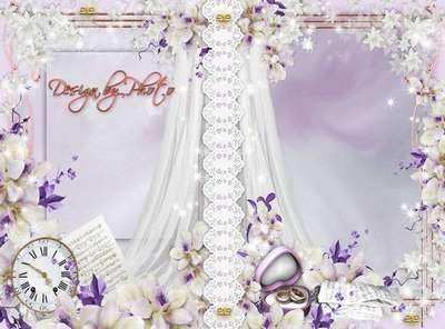 Cover to DVD - Wedding orchids