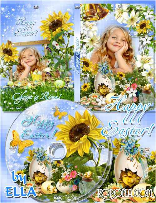 Easter set of covers and blowing on a DVD - Meet the Easter Bright!