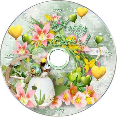 Easter set of covers and blowing on a DVD-Sing songs blessed Easter!