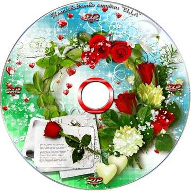 Beautiful romantic collection for Valentine's Day - blowing and cover DVD - Poems of Love