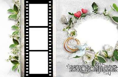 Gorgeous wedding photo book template-Magic moment