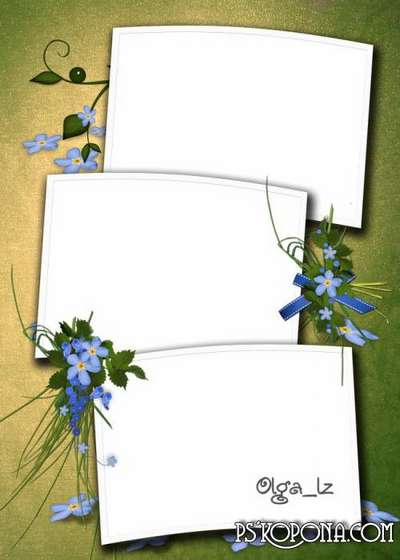 Pages and covers for photo book templates psd - Summer - a little life