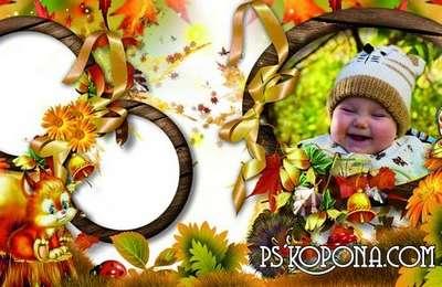 Autumn Childrens Album - Still smells forest mushrooms