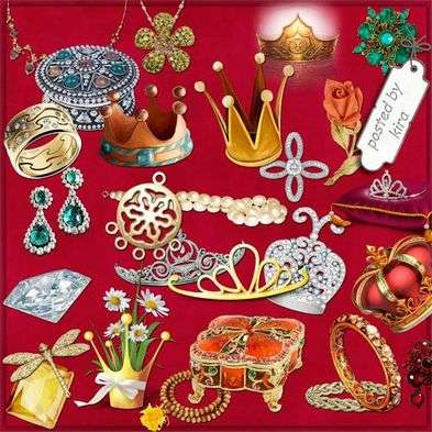 Graphics png for photo design - Women's jewelry, ornaments, except for rings - 112 PNG