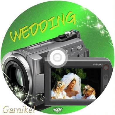 Cover DVD - wedding disc