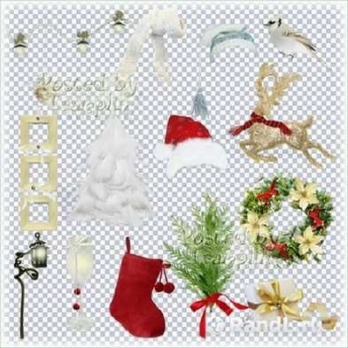 Free Christmas png images clipart png on a transparent background - Free download